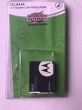 Motorola Cell Phone Replacement Battery: 3.7-Volt, 600mAh, Razr2 & other models