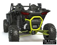 Pure Polaris Bull Bumper Rear RZR Turbo RZR1000 RZR1000 4 2014-18 Lime Squeeze
