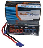 Powerhobby 6S 22.2V 6500mah 100c Lipo Battery w EC5 Plug