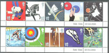 Olympic & Paralympic Games London 2012 mnh set