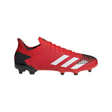 Adidas Predator 20.2 Fg Botas de Fútbol Hombre Rojo/Negro [EE9553]