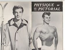 PHYSIQUE PICTORIAL SMR 1955 VOL 5 NO 2 Uncirculated - Beefcake Classic  LIKE NEW