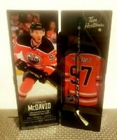 2020 CONNOR MCDAVID TIM HORTONS LIMITED EDITION NHL COLLECTIBLE STICK / LOCKER