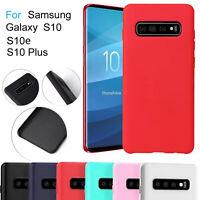 For Samsung Galaxy S10e S20 Plus Case Ultra Slim Soft Silicone TPU Matte Cover