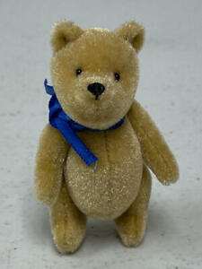 """MINIATURE 2.5"""" TEDDY BEAR LOOKS LIKE WINNIE-THE-POOH"""