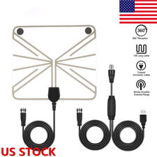 Indoor Digital Tv Antenna 50-100 Miles Range Signal HD 1080P Amplified HDTV XY