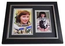 Helen Sharman SIGNED 10x8 FRAMED Photo Autograph Display First Briton in Space