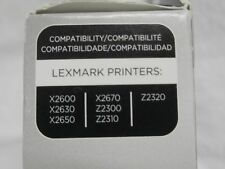 Lexmark 15 Tri-Color Ink Cartridge 18C2110 Genuine New in Package FASTSHIP LOOK