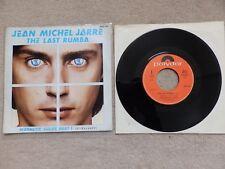 """JEAN MICHEL JARRE / JMJ - THE LAST RUMBA - MAGNETIC FIELDS 1/5 - DUTCH 7"""" VINYL"""