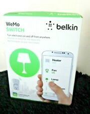 Belkin WeMo Smart Home Automation Light Switch White Wifi Enabled New In Box