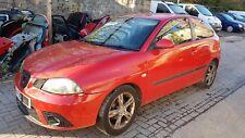 2006 SEAT IBIZA MK4 1.4 BBZ, RED, 5 SPEED GEARBOX, 3 DOOR, WHEEL NUT, BREAKING