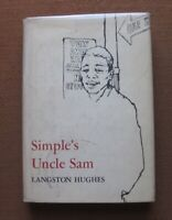 SIGNED - SIMPLE'S UNCLE SAM by Langston Hughes - 1st/1st HCDJ 1965