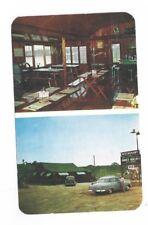 CANADA New Castle Ontario vintage post card Honey Hollow Restaurant