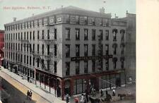 ROCHESTER, NY  New York      HOTEL EGGLESTON & Street View    1916 Postcard