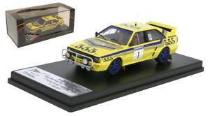 Trofeu Audi Quattro A2 Hong Kong - Beijing Rally 1986 - Stig Blomqvis 1/43 Scale