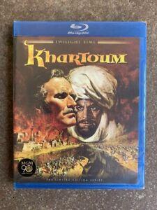 KHARTOUM Blu-ray Twilight Time OOP Sealed