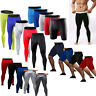 Compression Base Layers Jogging Running Fitness Under Shorts Legging Pants Mens