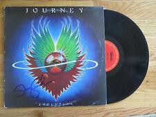 Drummer STEVE SMITH of JOURNEY signed EVOLUTION 1979 Record / Album COA