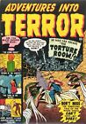 Adventures Into Terror 04 Comic Book Cover Art Giclee Reproduction on Canvas