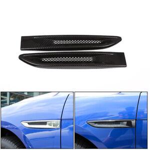 Carbon Accessories Side Fender Air Vent Cover Trim fits Jaguar F-pace 2016-2018