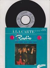 A La Carte    -      Radio