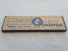 Vintage STAEDTLER MARS - LUMOGRAPH 4H Drawing Leads No 1904 2.6 mm
