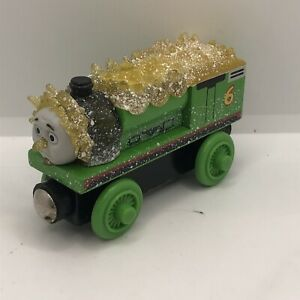 Thomas & Friends Wooden Jack Frost Percy Frozen Car
