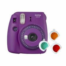 Fuji Instax Mini 9 clear purple Lila Violett Sofortbildkamera Sofortbild Kamera