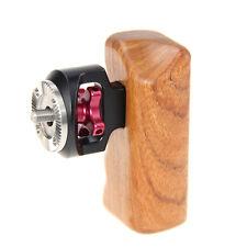 CAMVATE Wooden handgrip W/ M6 Threaded ARRI Rosette for DSLR Camera  cage(right)
