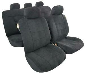 For Toyota Hilux Sheepskin Style Suede Seat Cover Universal Australia Size