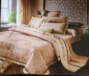 Imperial Rooms Complete 4-Piece Bedding Set - Gold (Double) - Please Read Notes