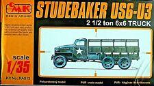 CMK RESIN ARMOR 1/35 STUDEBAKER US6-U3 2 1/2 Ton 6x6 Truck kit # RA013