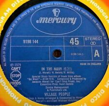 """Village People - In The Navy / Manhattan Woman (Special Disco Versions) 12"""" 1979"""