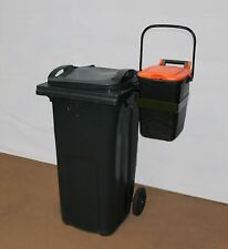 BRACKET FOR WHEELIE BIN- Wheelie bin, holder for food bin