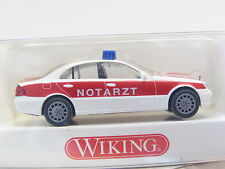 Wiking 071 08 29 MB E-Klasse Notarzt OVP (D6485)