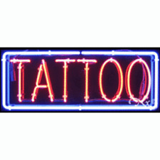 Brand New Tattoo 32x13 Border Real Neon Sign Withcustom Options 10494
