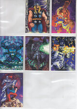 Marvel Universe:94 Flair- 1994-Lot 34-6 Cards