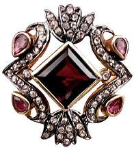 Victorian 1.12ct Rose Cut Diamond Gemstones Christmas Wedding Women's Ring