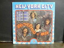 BROTHERHOOD OF MAN New york city 45PY140147