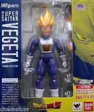 DRAGONBALL S.H.Figuarts Super Saiyan Vegeta Premium Color Edition Action Figure