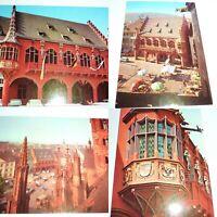 FREIBURG BREISGAU KAUFHAUS MUNSTERPLATZ  GERMANY VINTAGE POST CARD LOT  SEE PICS