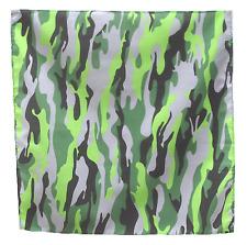 "Camouflage Pattern 21"" x 21"" (54cm x 54cm) Kerchief Head Scarf Bandana"