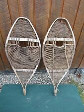 "Very Old Snowshoes 29"" Long x 15"" Wide Great for Decoration"