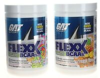 GAT FLEXX BCAA 7G Plant Based Fermented Amino Acids, 30 Servings Vegan NEW (b47)