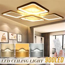Acrylic Modern 900LED Ceiling Lamp Fixture Ceiling Lights Bedroom AC110-220V 3 T