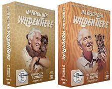 Im Reich der wilden Tiere - Staffel 1+2 - Folge 1-52 (Fernsehjuwelen) [4 DVDs]