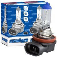 2x H11 XENOHYPE Premium Halogen Auto Lampe Birne 12V 55 Watt PGJ19-2
