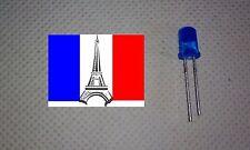LED Diode 5mm couleur bleu blue (~3V ~20mA) x10