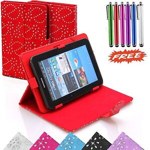 """Bling Case Cover Stand Fits 10.1"""" Inch HIPSTREET PILOT Tablet with Free Stylus"""