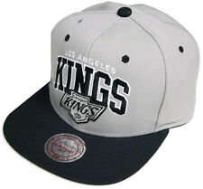 Mitchell & Ness NHL Los Angeles Kings 2 Tone Arch Grey Snapback Cap Kappe